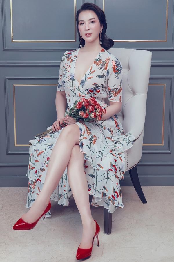 Thanh Mai thể hiện nét đẹp ngọt ngào