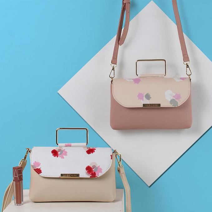 Túi thời trang Verchini màu hồng 13000602 giảm còn 149.000 đồng.