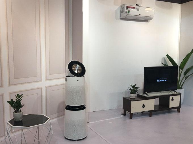 LG đẩy mạnh giải pháp điều hoà và lọc không khí - 1