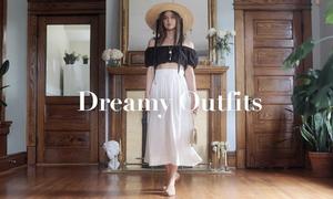 Váy áo cổ điển mang hơi thở Pháp
