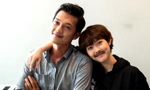 Diệp Bảo Ngọc giả trai đóng phim cùng Quang Tuấn