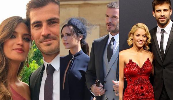 Vợ chồng Casillas, Becks và Pique
