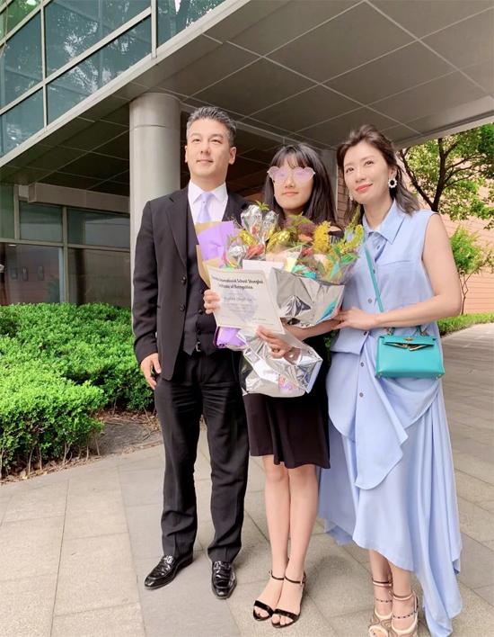 Chồng cũ của Giả Tịnh Văn cũng góp mặt tại buổi lễ.