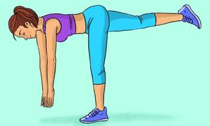 9 động tác giúp mông nở, chân thon có thể tự tập tại nhà