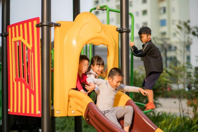 Các hoạt động ngày hè dành cho các bé tại khu chung cư - 5