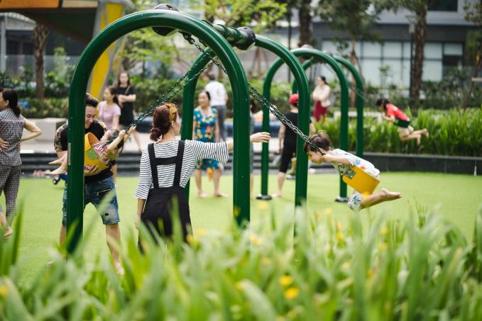 Các hoạt động ngày hè dành cho các bé tại khu chung cư - 6