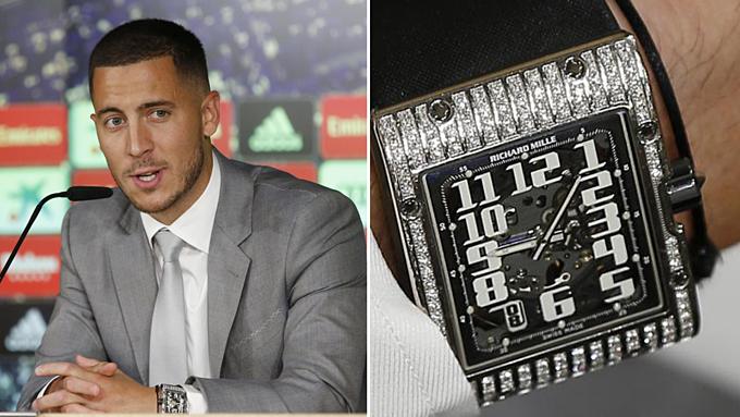 Đồng hồ đính kim cương của Hazard.