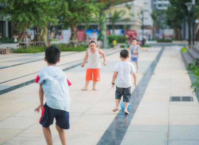 Các hoạt động ngày hè dành cho các bé tại khu chung cư - 3
