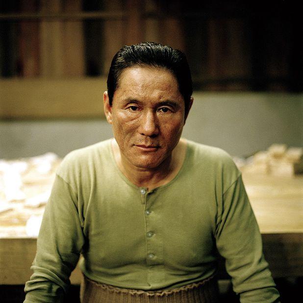 Tài tử Takeshi Kitano.