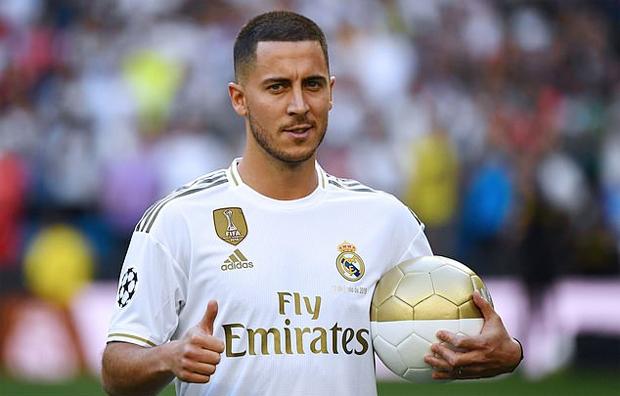 Eden Hazard thổ lộ rằng từ nhỏ đã mơ được chơi cho Real và giờ giấc mơ ấy trở thành sự thật.