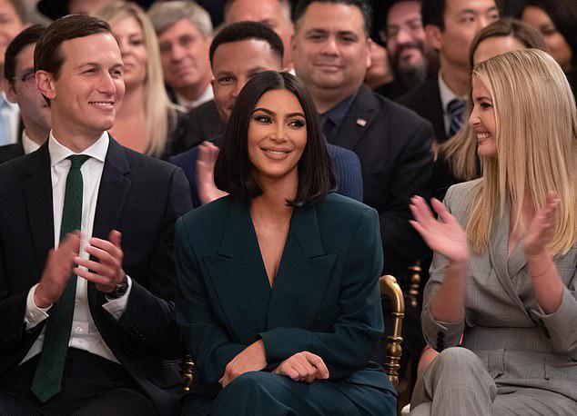 Kim trong sự kiện tại Nhà Trắng ngày 13/6.