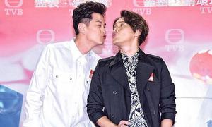 Sao nam TVB giấu vợ đóng cảnh hôn đồng tính