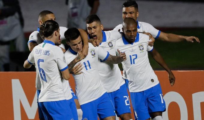 Brazil ra quân suôn sẻ tại Copa America 2019. Ảnh: AS.
