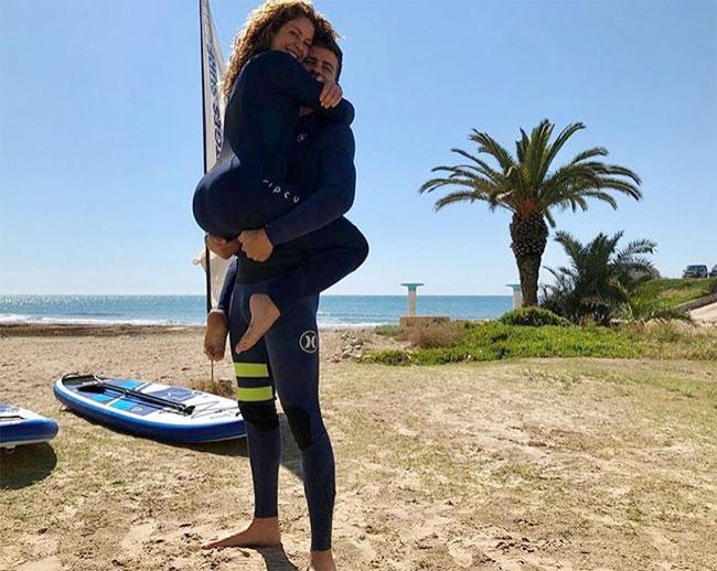 Pique và Shakira được cho là mong có thêm một cô con gái sau khi đã có hai cậu nhóc. Ảnh: Instagram.