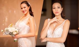 Cô dâu Phương Mai biến hóa với 2 kiểu makeup tôn cá tính