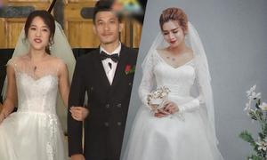 Dàn sao Running Man bản Việt gợi ý váy cưới