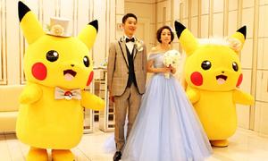 Tiệc cưới Pókemon 'gây sốt' ở Nhật