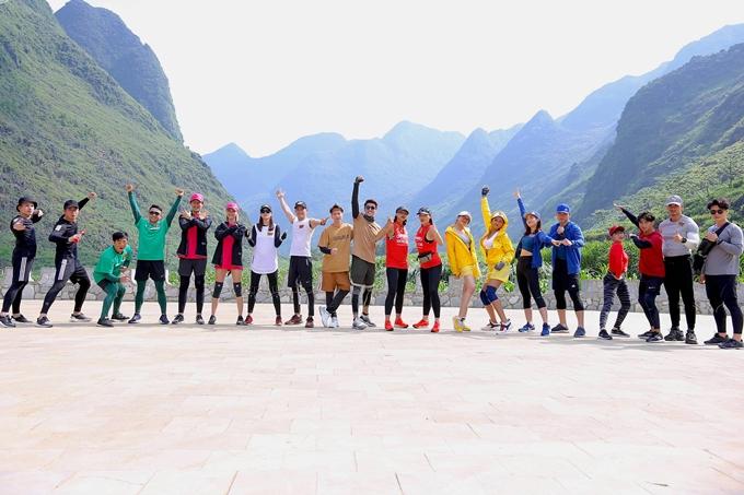 10 đội chơi của Cuộc đua kỳ thú 2019 có mặt tại Hà Giang bắt đầu tham gia chặng đầu tiên của chương trình.