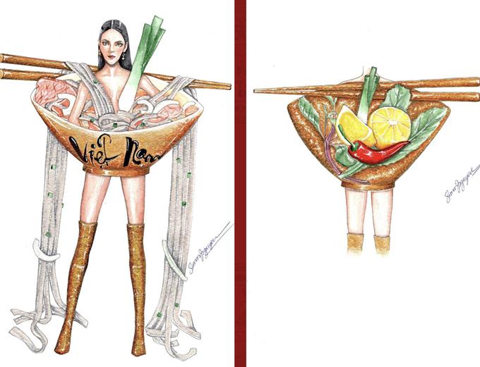 Cùng tên Nàng Phở, tác phẩm của Nguyễn Phúc Hậu được đánh giá cao về thẩm mỹ, khả năng trình diễn.