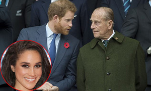 Hoàng thân Philip từng khuyên Harry không nên cưới Meghan
