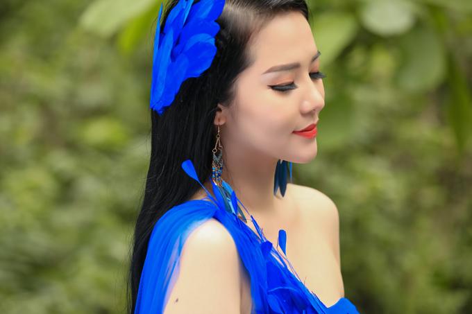 Phạm Thùy Dung dành 6 năm để học tập