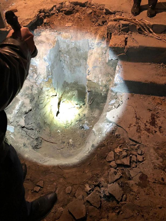 Nơi Vasily vứt xác nhân tình và đổ bê tông ở Alexeyevskoye, miền nam nước Nga. Ảnh: east2west.