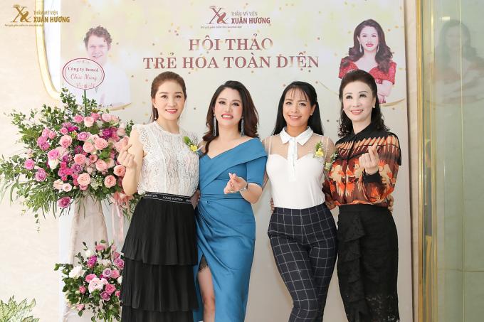 Ngoài các chuyên gia thẩm mỹ hàng đầu, chương trình còn có sự góp mặt của các người đẹp nổi tiếng như siêu mẫu Thúy Hằng, Hoa hậu Camay Ngô Thu Trang, Hoa hậu Doanh nhân Vũ Thúy Nga.