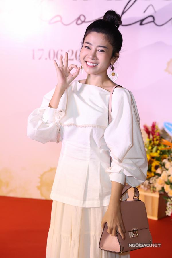 Diễn viên Mai Phương trông tươi tắn, đầy sức sống sau thời gian tích cực điều trị ung thư phổi. Cô may mắn đáp ứng thuốc khá tốt nên bệnh tình tiến triển khả quan.