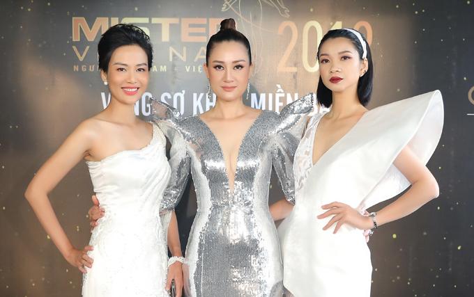 Hoa hậu Thu Thuỷ đọ sắc vóc bên Đàm Lưu Ly - 4