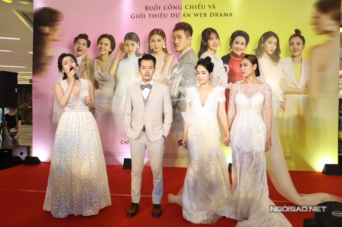 [Caption] Liên quan đến câu chuyện kết nối với Lệ Quyên để thực hiện ca khúc chủ đề trong web-drama này, Nam Thư chia sẻ: