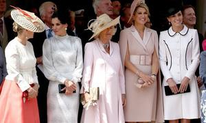 Kate rạng rỡ bên các mỹ nhân hoàng gia