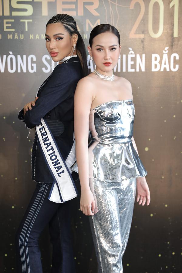 Hoa hậu Thu Thuỷ đọ sắc vóc bên Đàm Lưu Ly - 9