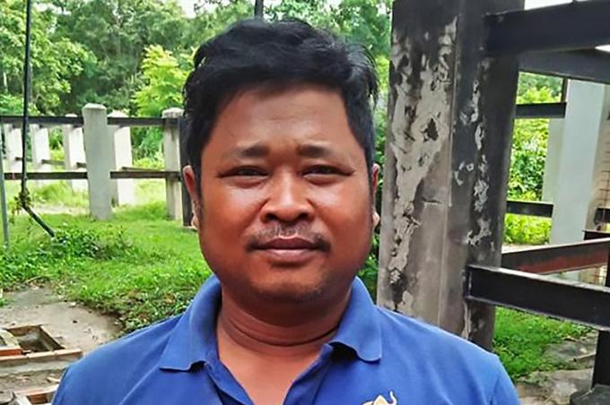 Prum Tam đang nằm trong khoa chăm sóc tích cực của bệnh viện sau khi tự sát không thành. Ảnh: