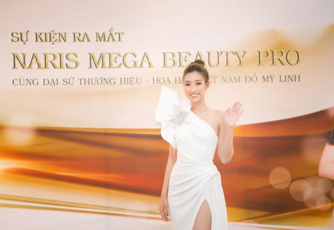 Vừa qua, mỹ phẩm Naris Nhật Bản ra mắt máy làm đẹp Mega Beauty Pro - hoàn thiện hệ sinh thái sản phẩm kết hợp công nghệ làm đẹp 6.0 của thương hiệu đồng thời công bố đại sứ là Hoa hậu Đỗ Mỹ Linh. Đây cũnglà lần đầu tiên sau 23 năm có mặt tại Việt Nam, Nariscông bố đại sứ thương hiệu.