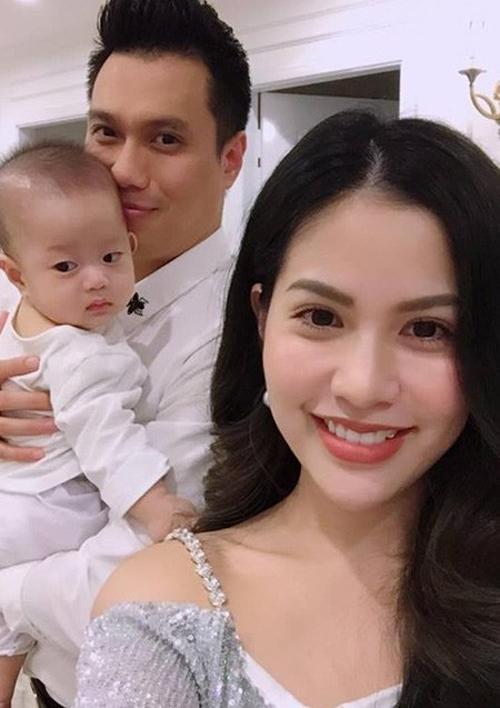 Vợ chồng Việt Anh khi còn hạnh phúc.