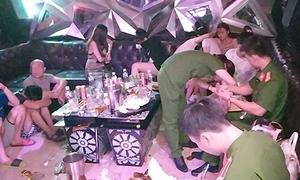 Hơn 70 nam nữ phê ma tuý trong quán karaoke ở Hưng Yên