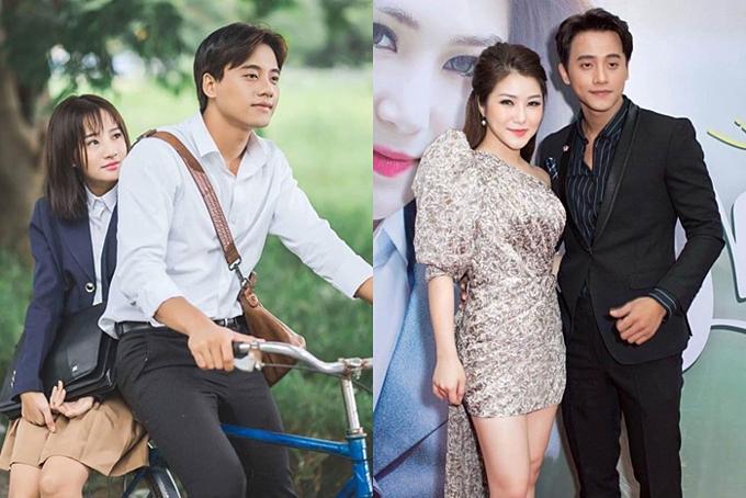 Vai diễn thầy giáo trong MV Em gái mưa (trái) của ca sĩ Hương Tràm (phải) tiếp tục là cột mốc đưa Mai Tài Phến đến đông đảo khán giả. Thời điểm này, ngoại hình của anh có sự thay đổi rõ rệt, chiếm trọn tình cảm của nhiều fans nữ.