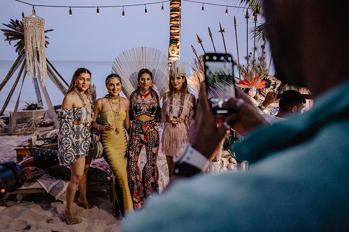 Tiệc cưới thứ 2 phong cách thổ dân của tỷ phú Ấn Độ ở Phú Quốc - 2