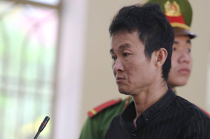 Bị cáo Huỳnh Ngọc Việt. Ảnh: Sơn Thủy.