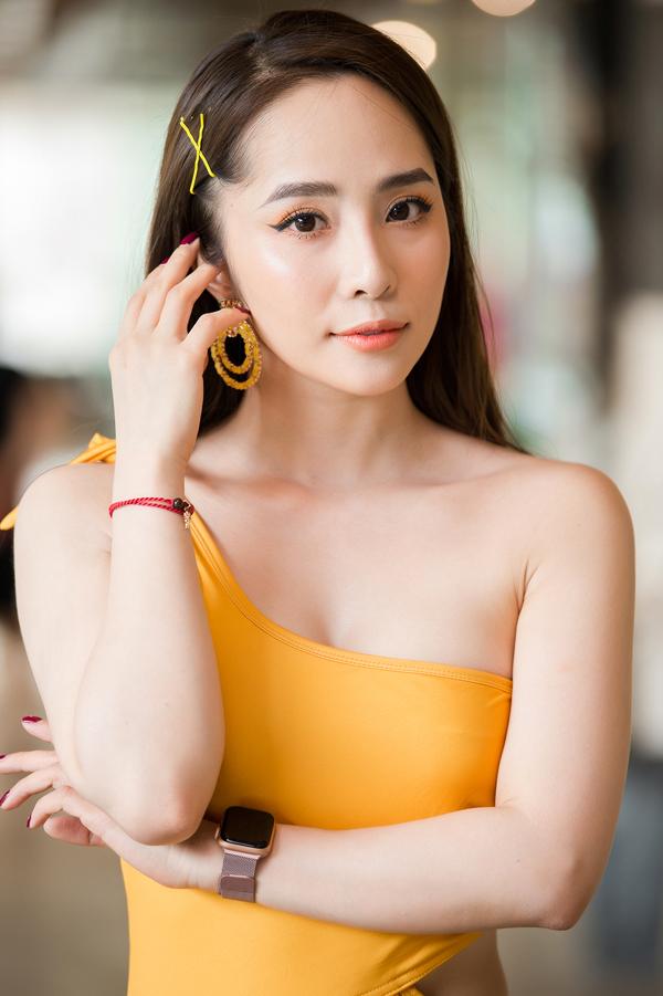 Diễn viên Quỳnh Nga.