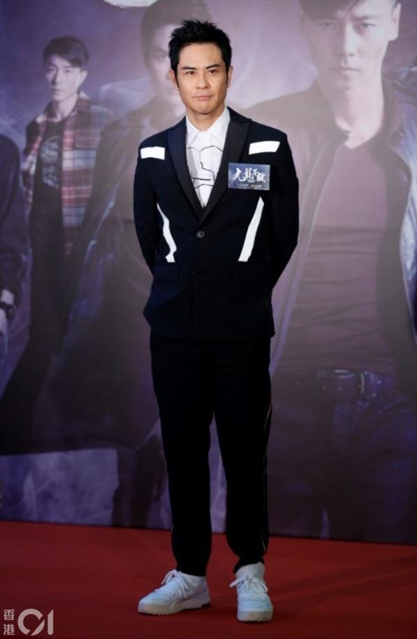 Trịnh Gia Dĩnh bảnh bao dự ra mắt phim.