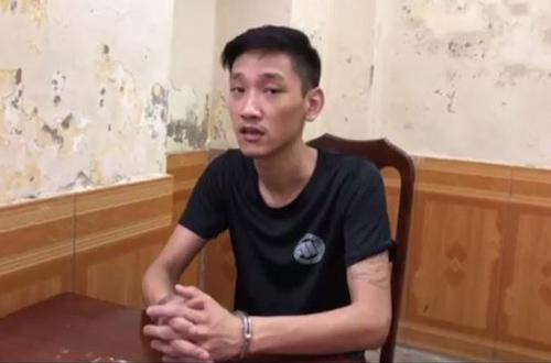 Bị can Nguyễn Việt Trung.