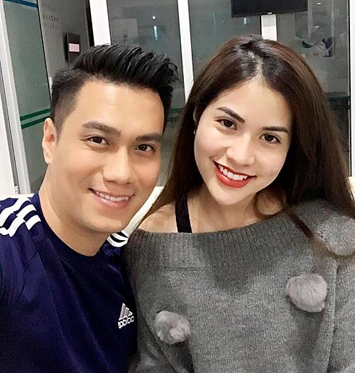 Việt Anh và Hương Trần khi còn hạnh phúc.