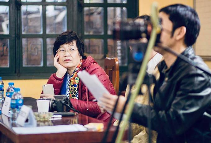 Nhà sản xuất - biên kịch Nguyễn Thị Hồng Ngát.
