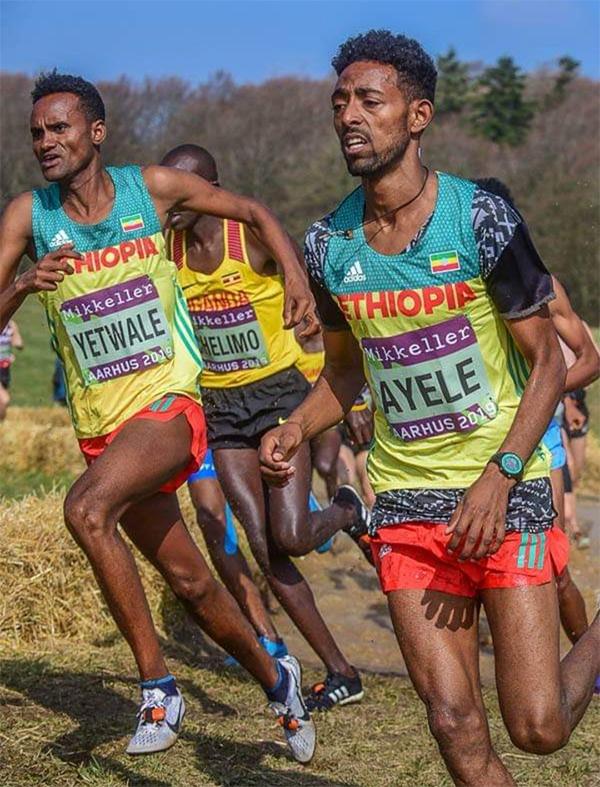 Hai VĐV ngườiEthiopiaGetnet Yetwale và Dinkalem Ayele, 18 tuổi cũng bị nhận xét là quá già.