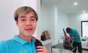 Văn Toàn làm vlog thăm nhà Xuân Trường ở Thái Lan