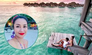 Kỳ nghỉ 'buông bỏ sự đời' của vợ chồng Ốc Thanh Vân ở Maldives