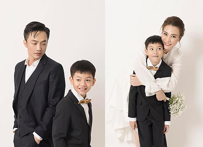 Subeo trong bộ ảnh cưới của Cường Đôla - Đàm Thu Trang.