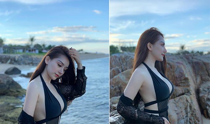 Bạn gái liên tục đăng ảnh nóng trong kỳ nghỉ với Văn Thanh - 1
