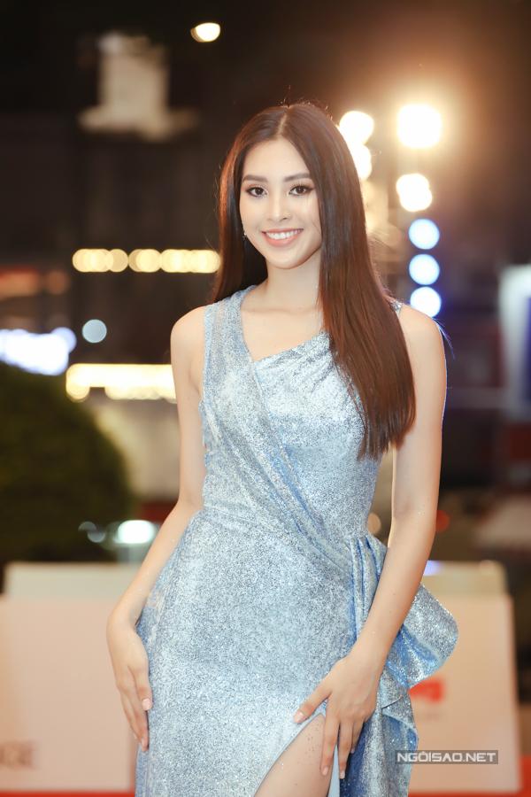 Hoa hậu Việt Nam 2018 Trần Tiểu Vy là đại sứ hình ảnh của cuộc thi.